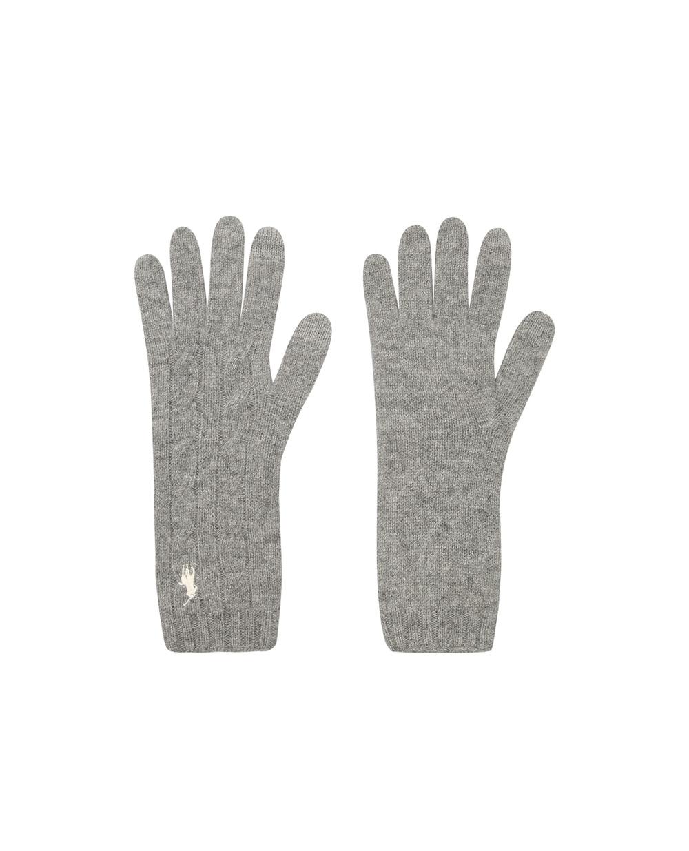 Шерстяные перчатки Polo Ralph Lauren 455823611004 — Kameron