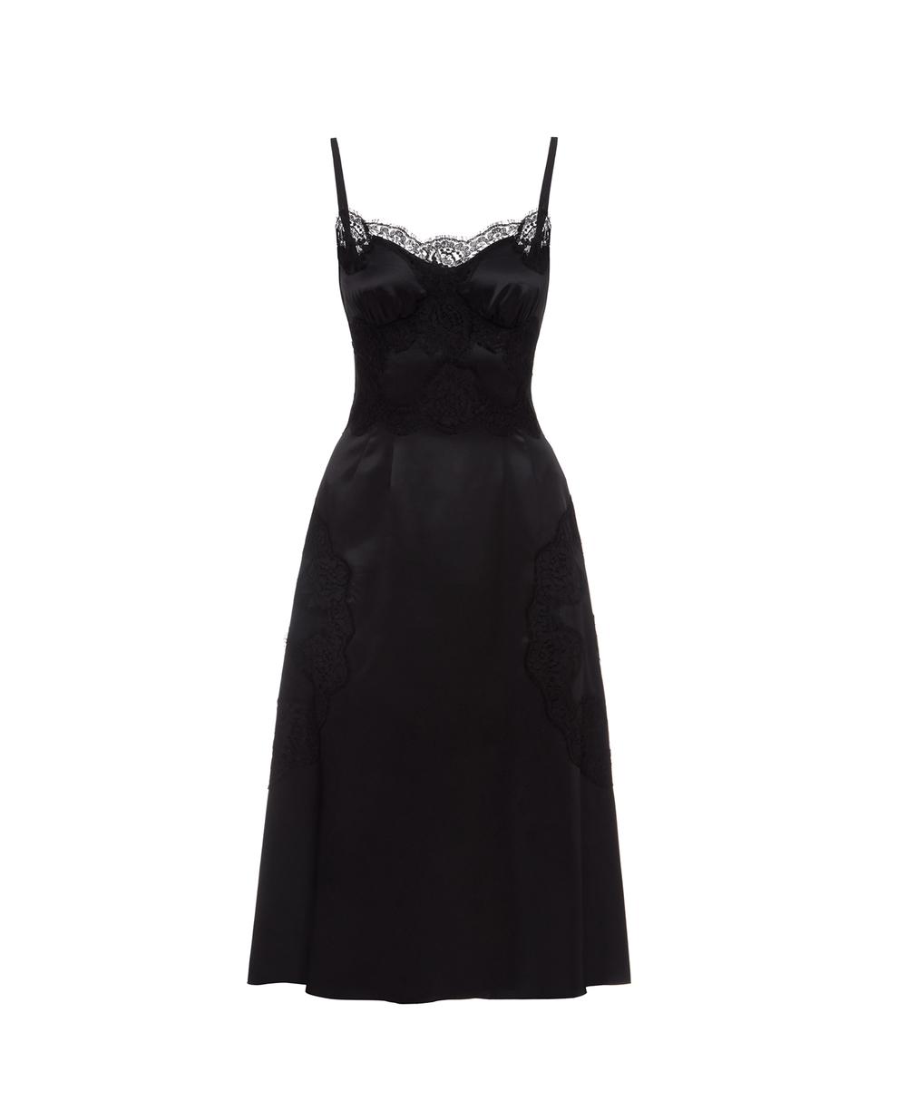 Шелковое платье Dolce&Gabbana F6K2WT-FURAG — Kameron