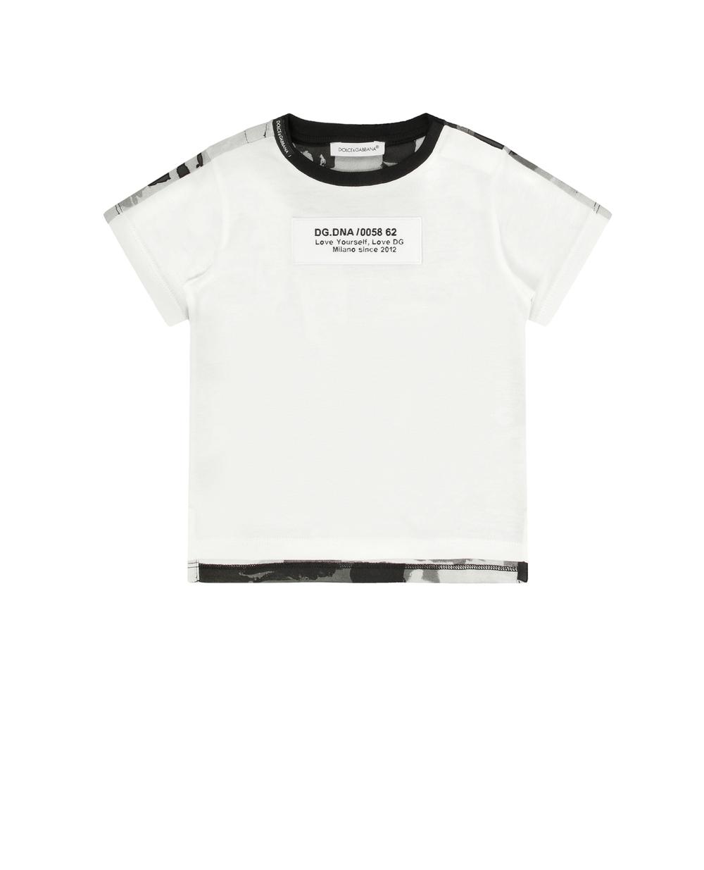 Футболка Dolce&Gabbana Junior L1JTDA-G7YKQ — Kameron