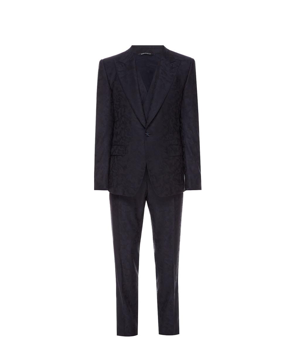 Шерстяной костюм (пиджак, жилет, брюки) Dolce&Gabbana GKEJMT-FJ2B4 — Kameron