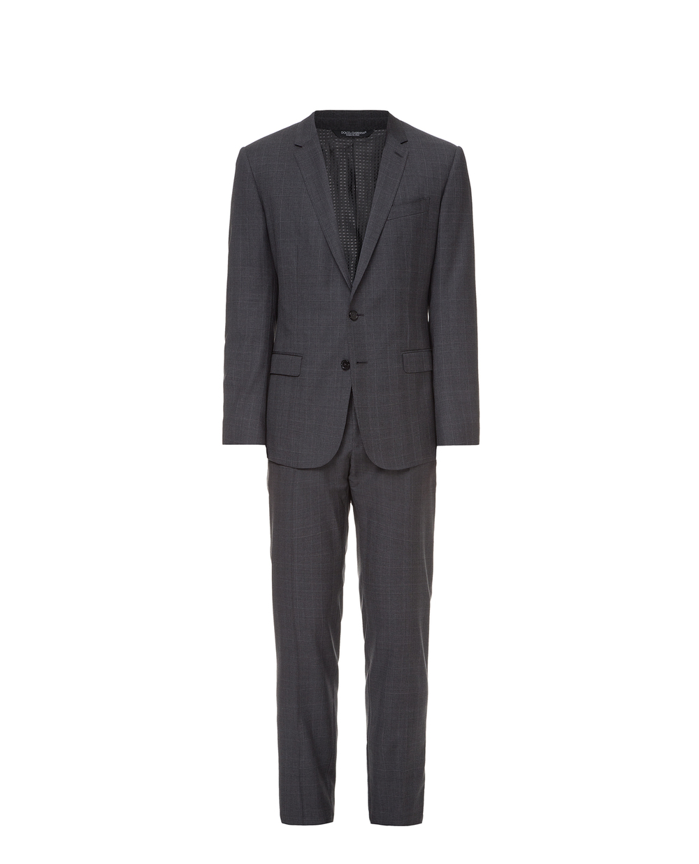 Шерстяной костюм в клетку Dolce&Gabbana GK13MT-FQ2IB — Kameron