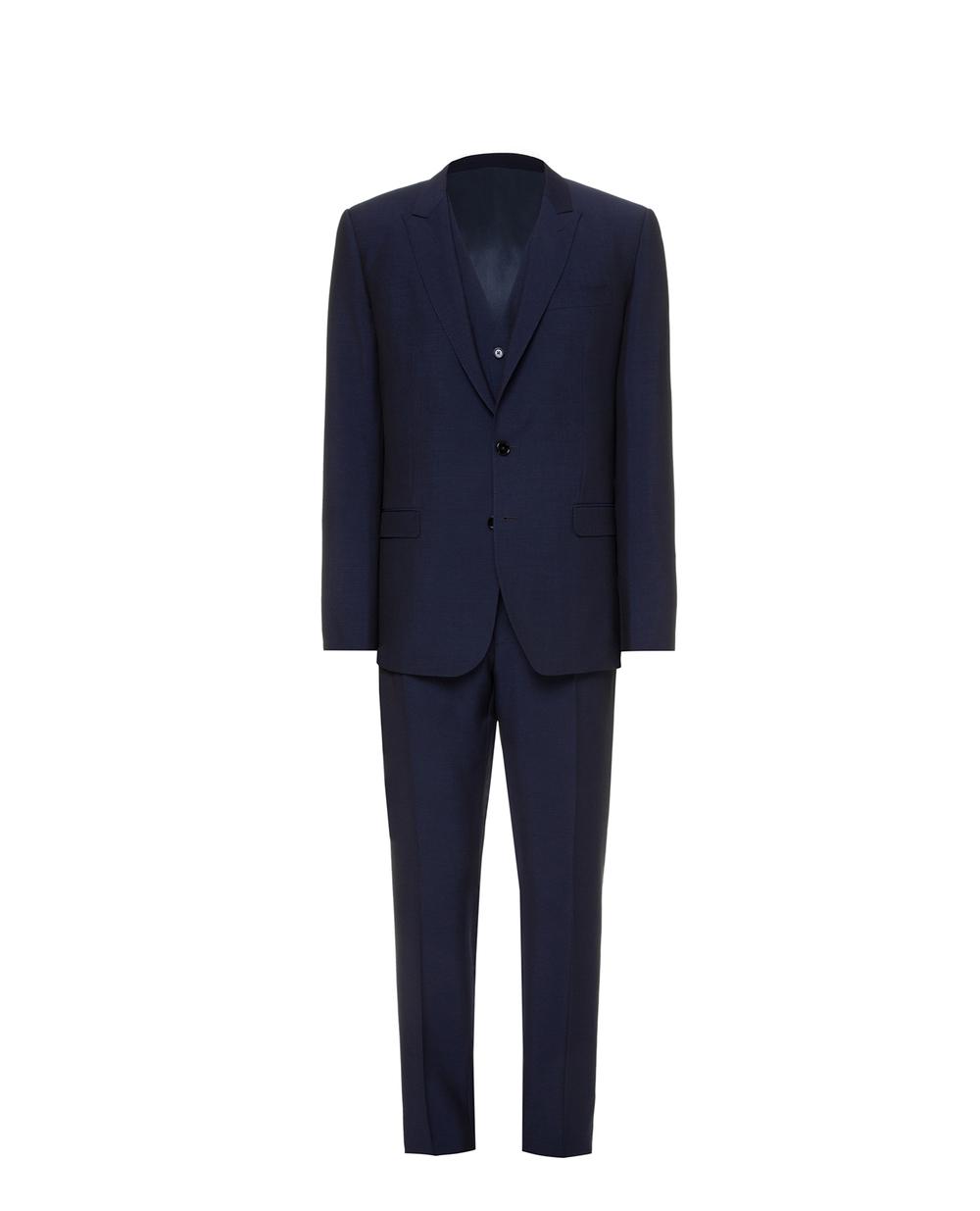 Шерстяной костюм Martini (пиджак, жилет, брюки) Dolce&Gabbana GK3XMT-FU3PU — Kameron